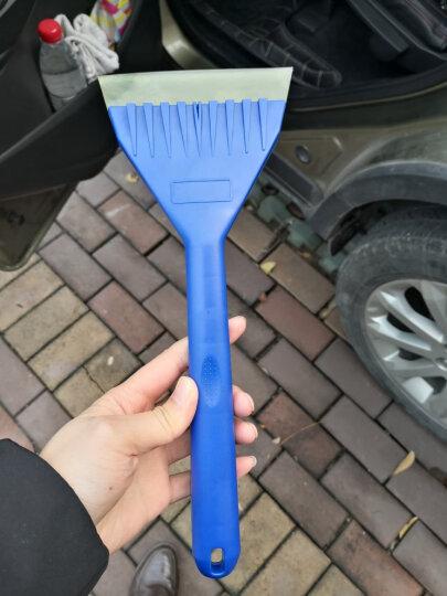趣行 多功能加厚牛筋冰雪铲 软胶头冰铲 刮霜 除冰 刮水 雨刷保护五功能汽车用品 晒单图
