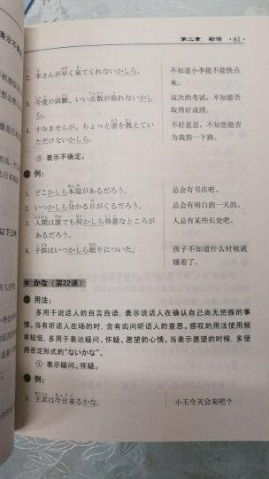 第二版新版中日交流标准日本语语法手册 初级(修订版) 晒单图