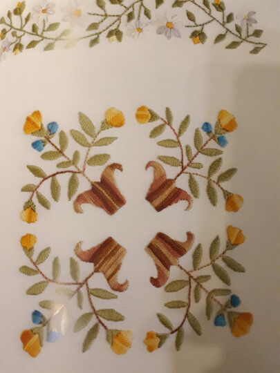 欧式刺绣入门:花朵 晒单图