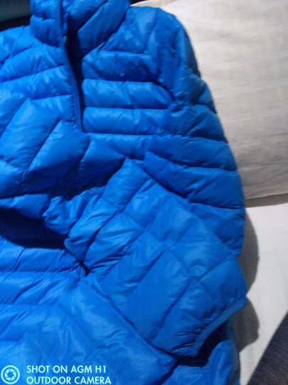 堡狮龙秋冬男装保暖短款男士冬季外套轻薄羽绒服男潮 913005020 582 蓝绿松石色 XL码 180/96B 晒单图