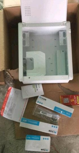 e代家园/塑料面板弱电箱/400x300mm/家用套装多媒体信息箱含电视电话模块条 晒单图