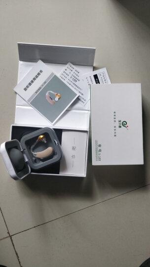 宝尔通 V-189 助听器 免充电 老年人老人耳背式无线隐形助听器 中重度弱听人士 耳挂式 标配 + 18粒电池 晒单图