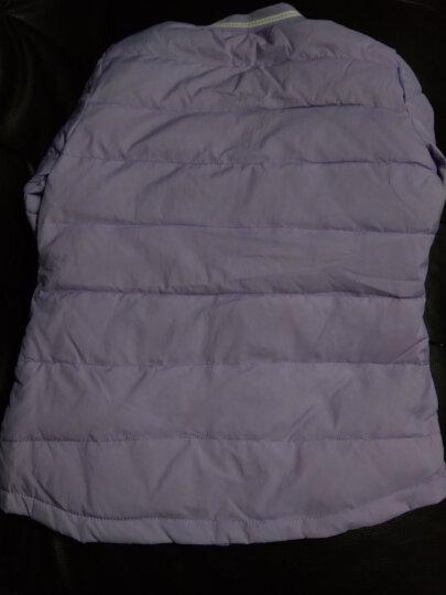 南极人 儿童羽绒服秋冬新款女童羽绒内胆青少年中大童羽绒上衣 茜红色(单件) 150尺码适合身高1米4左右 晒单图