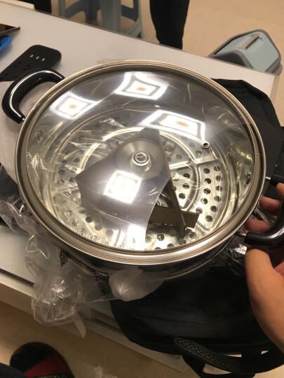 苏泊尔 26cm蒸锅双层加厚复底304不锈钢燃气煤气电磁炉通用锅具蒸笼SZ26B5 晒单图