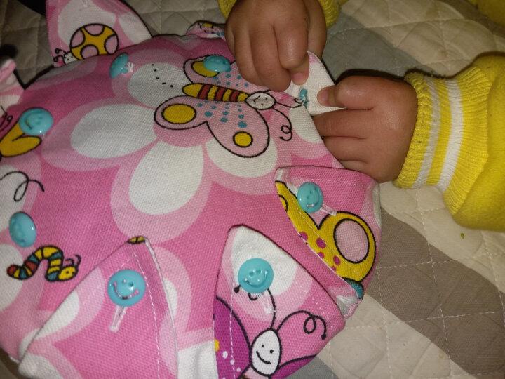 手工带纽扣布艺飞盘 儿童练习扣扣子 幼儿园教学安全软飞碟玩具 太阳花 晒单图