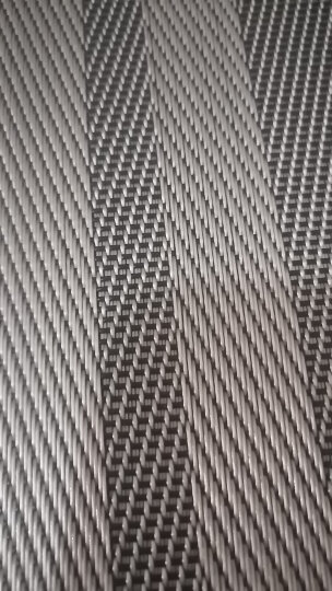 宝优妮厨房餐垫隔热垫PVC防滑餐桌垫餐厅防烫欧式西餐垫放餐具垫 4片装 厨房用品垫子DQ9034-3 晒单图