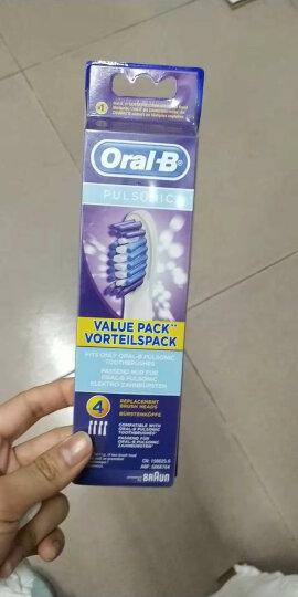 博朗 欧乐B(Oralb)电动牙刷头 成人声波式 口腔护理洁牙 S15替换刷头 SR32-4 晒单图