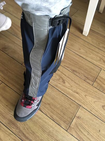 Tuban 防沙鞋套户外登山防雪雪套徒步沙漠护腿套男女款儿童滑雪防水脚套 升级款-橙色L 晒单图