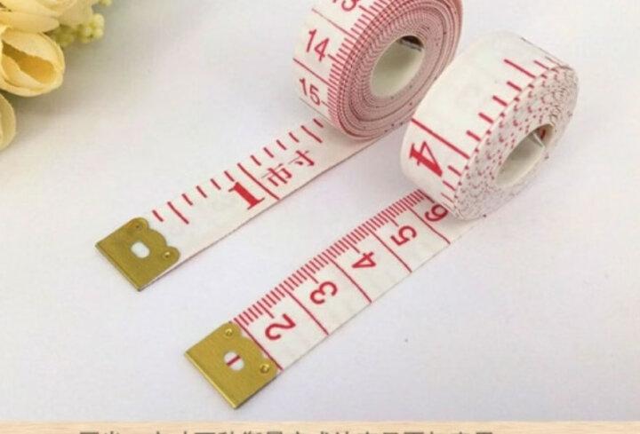 家用皮尺量腰围软尺三围量衣尺裁缝工具随身测量高精度尺子裁剪衣服布市尺 1.5米皮尺(1个) 晒单图