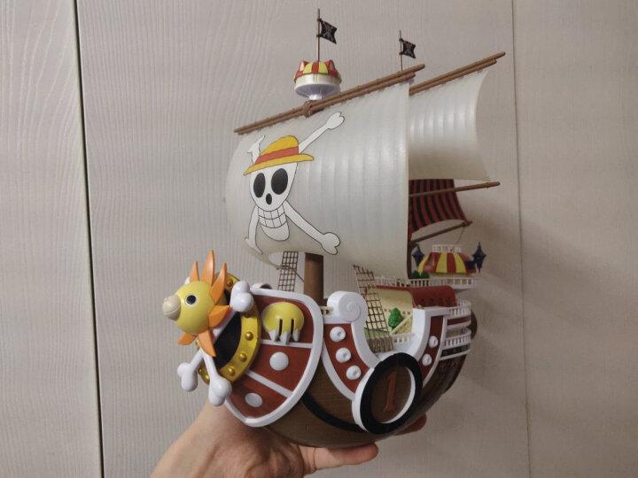 万代Bandai航海王 海贼王 海贼船伟大的船拼装模型玩具 76494伟大的船5莫比迪克号 白胡子白鲸号 晒单图