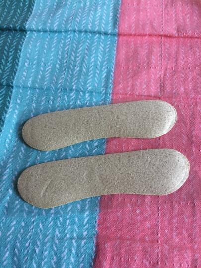 优家(UPLUS)加厚绒面硅胶二合一脚后跟贴2对装(T型脚跟贴 足跟贴 高跟鞋垫半码垫 防磨脚防滑) 晒单图