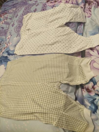 【没货下架】拉比婴儿衣服新生儿和尚服夏季薄款男女童宝宝纱布睡衣内衣套装 不开档款 59码/参考身高52-59cm 晒单图