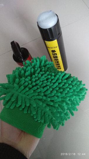 Astree超细纤维 雪尼尔手套 家用车用的擦车手套 双面大号单只装洗车手套 雪尼尔洗车刷套 晒单图