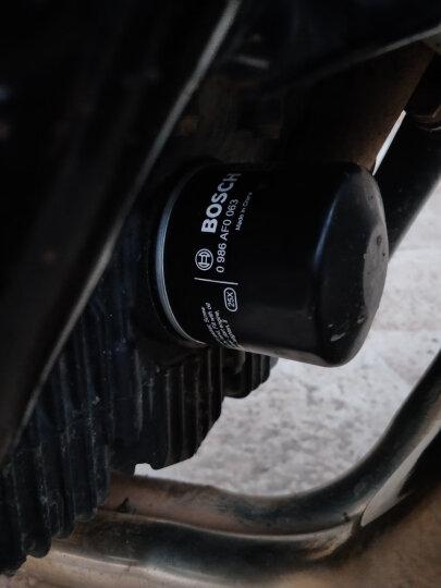博世摩托车机油滤芯/滤清器/机油格 雅马哈 FZ6 晒单图