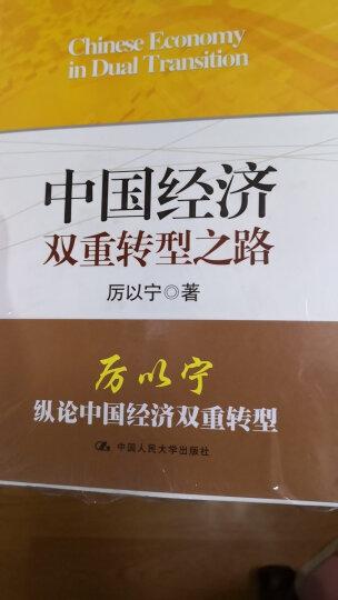 中国经济双重转型之路 晒单图