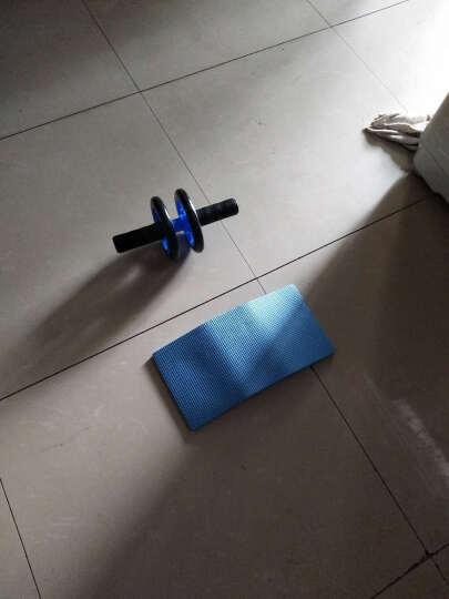 健腹轮腹肌轮收腹机男士健身器材套装锻炼腹肌轮健身套装静音型双轮健腹轮 臂力器50kg套装【礼盒款】 晒单图