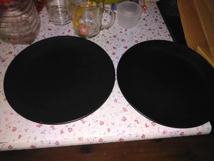 亿嘉IJARL 剑林创意日韩欧式陶瓷器牛排盘水果盘西餐盘碟子8英寸餐盘 北欧印象 白色 晒单图