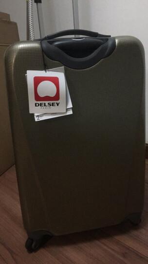 法国大使牌(Delsey)商务拉杆箱20英寸ABS可登机旅行箱万向轮行李箱男女黑色799 晒单图