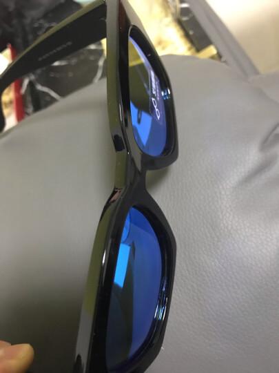 艾塔雷朋太阳镜明星款复古偏光韩版女墨镜男开车司机眼镜 黑框 水银片 晒单图