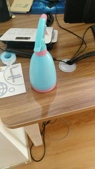 果花 蓝色树脂喷水壶450ml 浇花壶 喷雾器 手压式小喷壶 气压洒水壶 园艺工具 晒单图