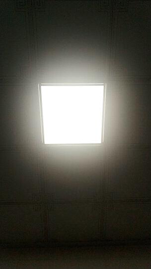 HD led集成吊顶灯 厨房卫生间吸顶灯具 平板灯 白光 30*30cm 晒单图