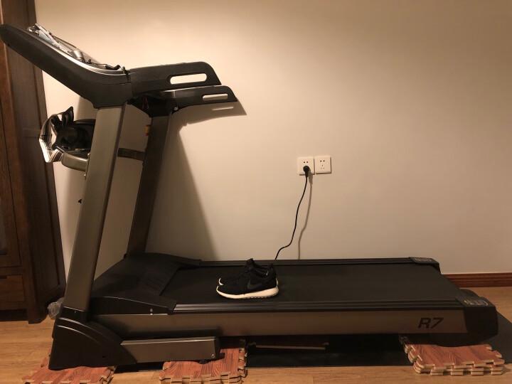 【现货】汇祥跑步机家用智能多功能健身器材R7 多功能彩屏/wifi上网 晒单图