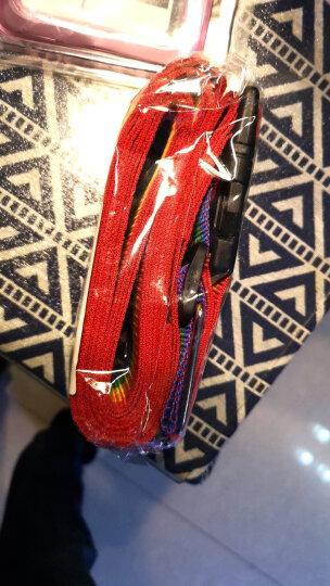 班哲尼 十字打包带 出国托运拉杆箱捆绑带扎带行李箱托运打包带旅行安全捆箱带 含行李书写牌 彩虹色 晒单图