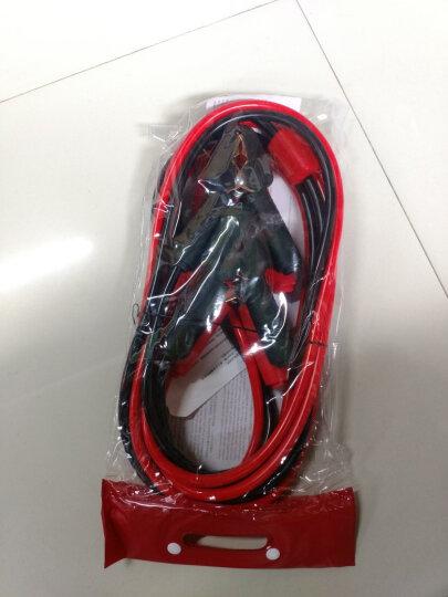 沿途 汽车电瓶搭火线 4米 带电压保护器+提示灯 搭电线电瓶夹子连接打火 过江龙 N08 晒单图