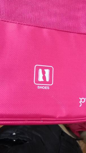 携程优品 旅行鞋子收纳袋整理包鞋袋 防水收纳包大容量旅游出差便携鞋包 20260 浅灰色 晒单图