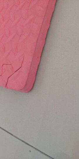 明德 双面大号加厚儿童地垫 防滑爬行垫 pe泡沫地垫拼图地垫爬爬垫60*60*2.5cm 绿色4片 60*2.5cm水点纹 晒单图