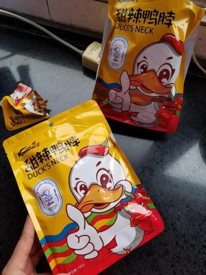 精武甜辣鸭脖子卤味休闲零食小吃190g 晒单图