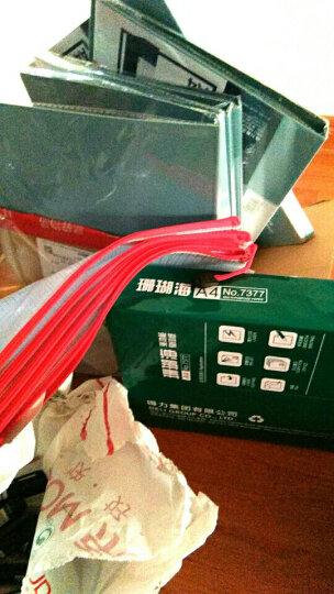 得力(deli)黑色物流专用可加墨油性记号笔大头笔 10支/盒S553 晒单图
