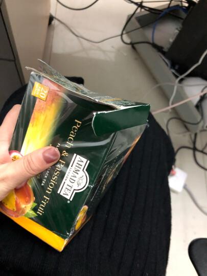 阿联酋进口 亚曼(AHMADTEA) 精选果茶40g/盒 苹果水蜜桃百香果草莓柠檬香柠水果调味红茶 晒单图