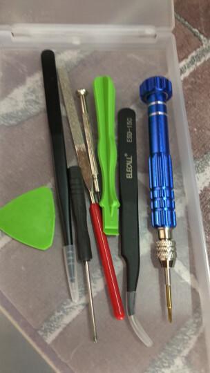 伊莱科 iphone手机维修拆机工具 6合一螺丝刀套装组合 苹果三星小米拆机起子螺丝批 套餐三(拆机八件套) 晒单图