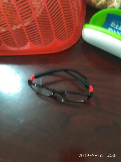EFE儿童防辐射眼镜 防蓝光电脑护目镜预防近视e09014 C1-黑色框 晒单图