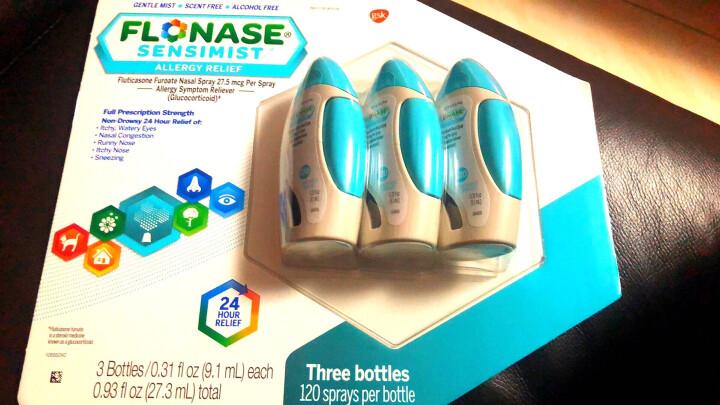 Flonase 葛兰素史克 辅舒良 抗过敏鼻炎喷鼻剂  美版原装进口过敏喷剂 儿童 1*60次用量 单品 晒单图