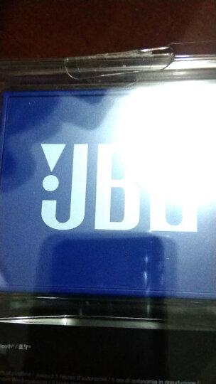 JBL GO 音乐金砖 便携式蓝牙音箱 低音炮 户外音箱 迷你小音响 可免提通话 星际蓝 晒单图