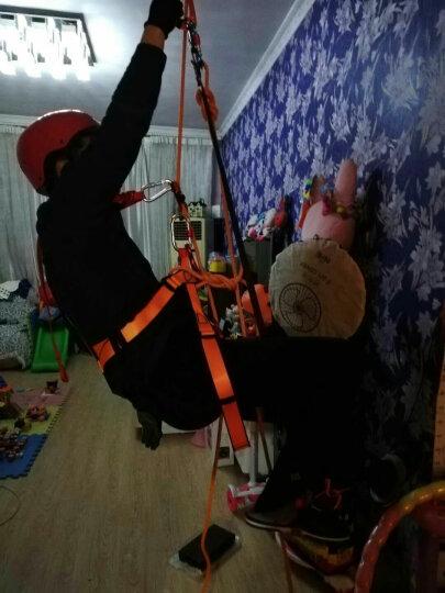 欣达/Xinda 户外攀岩装备八字环下降器缓降器8字环保护器速降安全防护35KN八字环速降器 银色 晒单图