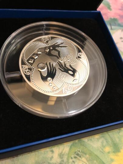 【中国印钞造币】法国2016年瑰宝系列 梵克雅宝110周年纪念币精制银币 +珍珠母圆形 50欧元面额163.8g 晒单图