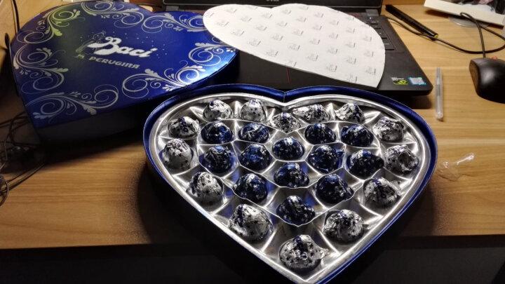 意大利进口 雀巢Nestle芭喜Baci一生一世爱心巧克力糖果礼盒27粒/386克 晒单图