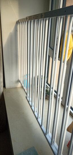 攸曼诚品(EUDEMON)儿童安全窗户防护栏 安全飘窗护栏 高层阳台保护栏 婴儿安全围栏免打孔栏杆 5片宽度211-348cm 晒单图