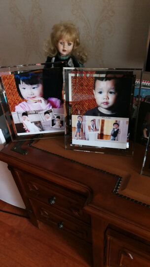 古今红 水晶相框摆台创意7寸七5 6 8 10 A4照片框相架儿童画框证书框玻璃 10寸玻璃相框 买二送一 仅限同尺寸 晒单图