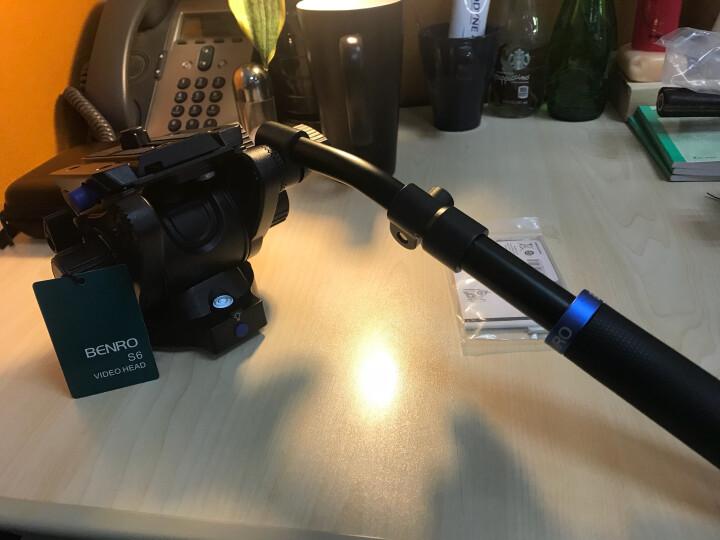 百诺(Benro)云台 S6 液压云台 摄影摄像机 单反相机 专业液压阻尼云台 晒单图