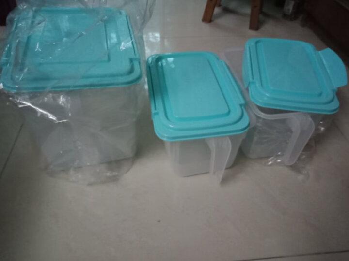 HAIXIN海兴冰箱收纳储物盒水果密封收纳箱食品鸡蛋盒组合装 天蓝色9L*1+4.5L*2(扩容升级款) 带硅胶圈 晒单图