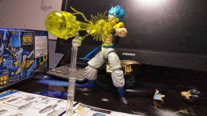 万代拼装模型玩具 Figure-rise 七龙珠 超级赛亚人 沙鲁 完全体 HGD-207586 晒单图