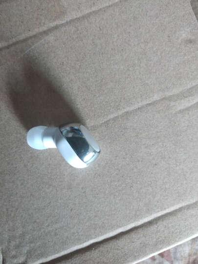 魔风者 蓝牙耳机迷你 微型耳机隐形 真无线超小蓝牙耳机入耳式 耳塞耳麦mini10银白色 金立360华硕努比亚美图酷派一加朵唯中兴TCL通用 晒单图