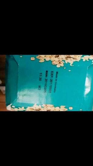 德国进口 维地全谷物大燕麦片500G健身代餐无添加蔗糖高膳食纤维即食早餐原味燕麦片 整箱500G*20袋 晒单图