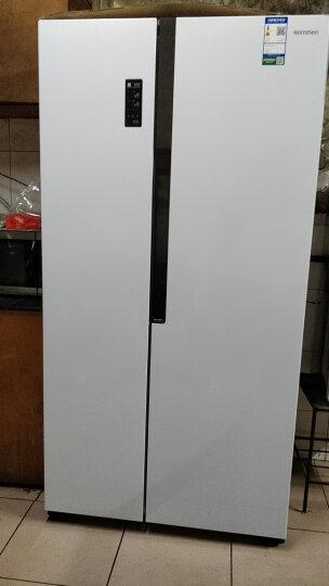 容声(Ronshen) 526升 对开门冰箱 简约纤薄机身 风冷无霜 节能静音 珍珠白 BCD-526WD11HY 晒单图
