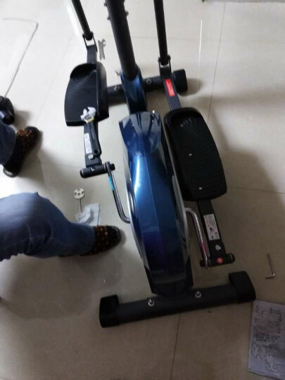 JTH椭圆机家用健身器材静音小型迷你太空漫步机室内磁控商用椭圆仪健身房减肥运动JTH-735H 晒单图