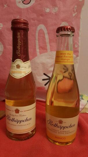 【全店清仓】Rotkappchen/小红帽起泡酒 德国原装进口甜型起泡气泡葡萄酒 芒果味200ml*1 晒单图